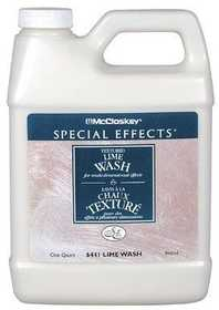 Lancaster Distributing 1202764412 Lime Wash Glaze Qt