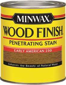 Minwax 2742622300 Early American Wood Finish Stain 1/2-Pint