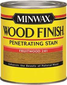 Minwax 2742622410 Fruitwood Wood Finish Stain 1/2-Pint