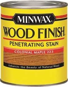 Minwax 2742622230 Colonial Maple Wood Finish Stain 1/2-Pint