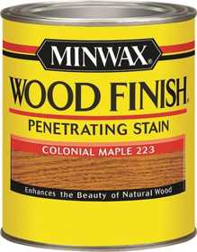 Minwax 2742670005 Colonial Maple Wood Finish Stain Quart