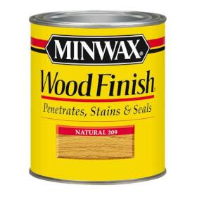 Minwax 2742622090 Minwax Wood Finish Natural 1/2 Pt