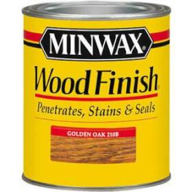 Minwax 2742622102 Minwax Wood Finish Golden Oak 1/2 Pt