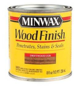 Minwax 2742622126 Minwax Wood Finish Driftwood 1/2 Pt