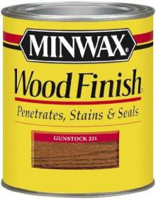 Minwax 2742622310 Minwax Wood Finish Wood Finish Gunstock 1/2 Pt