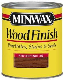 Minwax 2742622320 Minwax Wood Finish Wood Finish Red Chestnut 1/2 Pt