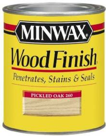 Minwax 2742622600 Minwax Wood Finish Pickled Oak 1/2 Pt