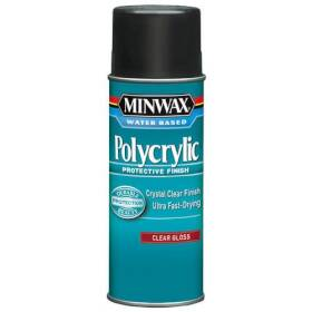 Minwax 2742635555 Polycrylic Gloss Spray