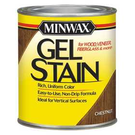 Minwax 2742666010 Chestnut Gel Stain Quart