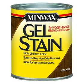 Minwax 2742666060 Gel Stain Walnut Qt