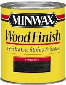 Minwax 2742670013 Minwax Wood Finish Ebony Qt