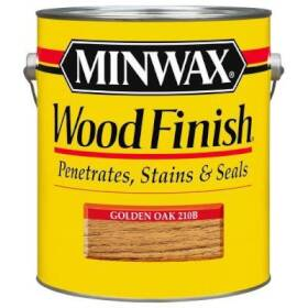 Minwax 2742671001 Minwax Wood Finish Golden Oak Gal