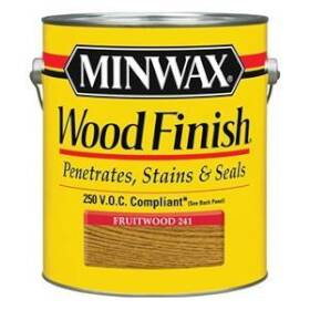 Minwax 2742671010 Minwax Wood Finish Fruitwood Gal