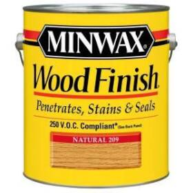 Minwax 2742671070 Minwax Wood Finish Natural Voc Gal