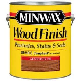 Minwax 2742671088 Minwax Wood Finish Gunstock Voc Gal