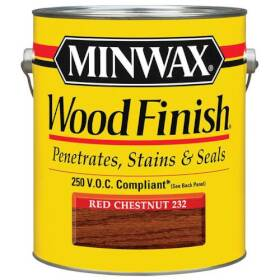 Minwax 274671089 Minwax Wood Finish Red Chestnut Voc Gal