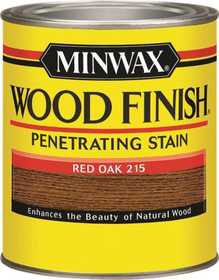 Minwax 2742670040 Red Oak Wood Finish Stain Quart