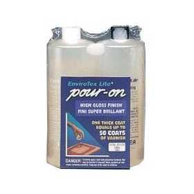 Envirotex 2032 Interior Pour-On Polymer Clear High-Gloss Finish 32-Ounce