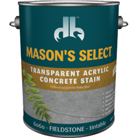 Duckback DB60604 Mason's Select Transparent Acrylic Concrete Stain In Fieldstone 1 Gal