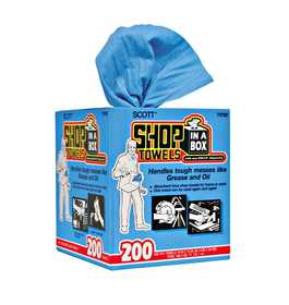 Scott 75190 Towel Shop Blue Box 200count