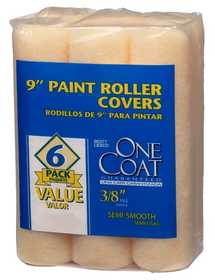 Rubberset 118406900 Paint Roller Cover One Coat 6pk