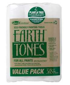 Rubberset 535738900 Paint Roller Cover 3/8 in Earth Tones 3pk