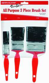 Rubberset 990317030 Value Series Paint Brush Set 3pc