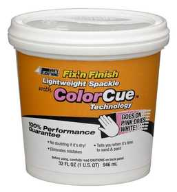 White Lightning WL0006052 Lightweight Spackle Qt