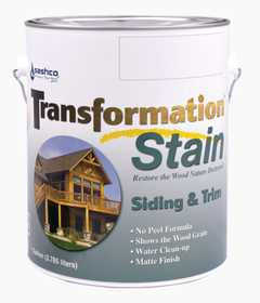 Sashco 67544 Transfrmation Siding & Trim Stain Brown Tone Medium Gallon