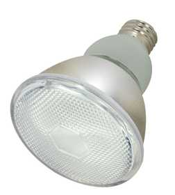 Satco Nuvo Lighting S7205 15 Watt Par30 Compact Fluorescent Bulb Cool White