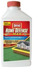 Ortho 0194260 Home Defense Max Termite And Destructive Bug Killer, 32 Oz Concentrate