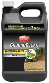 Ortho 0430510 GroundClear Vegetation Killer Gallon Concentrate