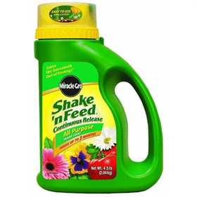 Scotts Miracle-Gro 100714 Shake-N Feed All Purpose Plant Food 4.5lb