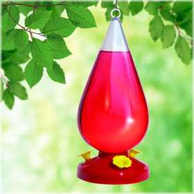 Perky Pet 273 Dew Drop Hummingbird Feeder 32 oz
