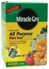 Miracle-Gro 100112 Miracle Gro All Purpose Water Soluble 11/2lb