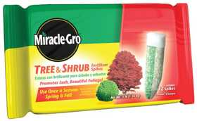 Miracle-Gro 1003861 Miracle Gro Tree And Shrub Fertilizer Spike
