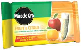 Miracle-Gro 100396 Miracle Gro Fruit & Citrus Spikes 3lb