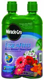 Miracle-Gro 100404 Miracle Gro Liquid Feed Bloom Booster 2pk 16 oz
