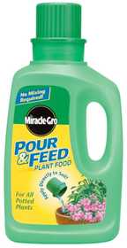 Miracle-Gro 1006001 Miracle Gro Pour & Feed 32 oz