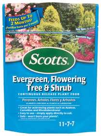 Scotts 1009101 Scotts Evergreen, Flowering Tree And Shrub Food, 3lb