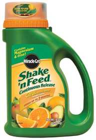 Miracle-Gro 104829 Miracle Gro Shake N Feed Citrus Cont 4.5lb