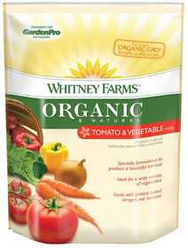 Whitney Farms 109103 Organic And Natural Tomato And Vegetable Food, 4 Lbs