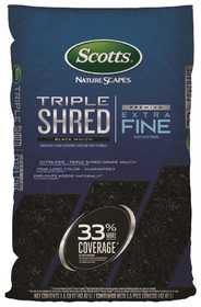 Scotts MR88559410 Nature Scapes Triple Shred Mulch Black 1.5cf