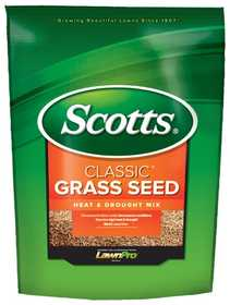 Scotts 17295 Scotts Classic Heat & Drought Grass Seed 7#