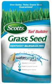Scotts 18266 Turf Builder Grass Seed Kentucky Bluegrass 3lb