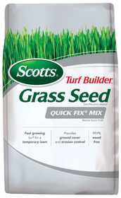 Scotts 18272 Turf Builder Quick Fix Mix Grass Seed 3lb