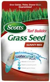 Scotts 18345 Turf Builder Sunny Mix Grass Seed 3lb