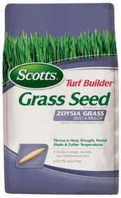 Scotts 18362 Turf Builder Zoysia Seed & Mulch 5lb