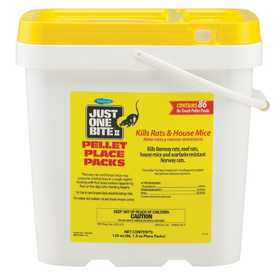 GENERIC CHEMICAL SD100504296 Just One Bite II Pellet Place Packs Pail 8 Lbs