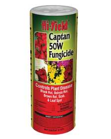 Hi-Yield FH32109 Captain 50w Fungicide 12 Oz